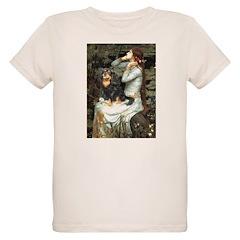 Ophelia & Cavalier (BT) Organic Kids T-Shirt