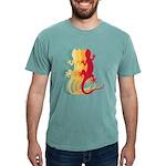 The Queen's Tri Cavalier Organic Kids T-Shirt (dar