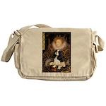 The Queen's Tri Cavalier Messenger Bag