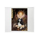 The Queen's Tri Cavalier Throw Blanket