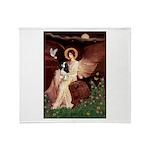 Angel (1) & Tri Cavalier Throw Blanket