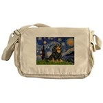 Starry Night Cavalier Messenger Bag