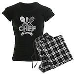 Lilies & Chihuahua Organic Toddler T-Shirt (dark)