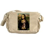 Mona / C Crested(HL) Messenger Bag