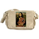Mona / Chow Messenger Bag