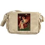 Angel / Cocker Messenger Bag