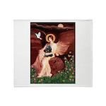 Angel / Cocker Throw Blanket