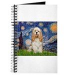 Spring /Cocker Spaniel (buff) Journal