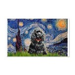 Starry Night / Black Cocke 20x12 Wall Decal