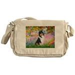 Garden / Collie Messenger Bag