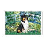 Bridge / Collie (tri) 20x12 Wall Decal