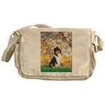 Spring / Collie Messenger Bag