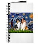 Starry Night / Collie pair Journal