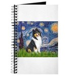 Starry Night / Collie (tri) Journal