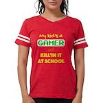 Mona's Coton de Tulear Organic Kids T-Shirt (dark)