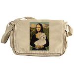 Mona's Coton de Tulear Messenger Bag