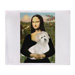 Mona's Coton de Tulear Throw Blanket