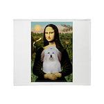 Mona's Coton de Tulear Throw Blanket