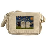 Starry / Coton Pair Messenger Bag