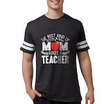 Irises & Dachshund Organic Toddler T-Shirt (dark)