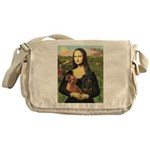 Mona Lisa's Dachshunds Messenger Bag