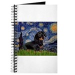 Starry Night Dachshund Journal