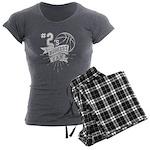 Lilies/ Dalmatian #1 Organic Kids T-Shirt (dark)