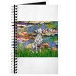 Lilies/ Dalmatian #1 Journal