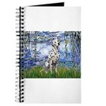 Lilies / Dalmatian #1 Journal