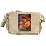 Mandolin / Dalmatian #1 Messenger Bag