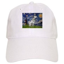 Starry Night / Dalmation Baseball Cap