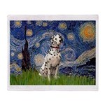 Starry /Dalmatian Throw Blanket
