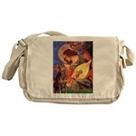 Mandolin Angel & Dobie Messenger Bag