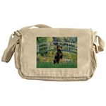 Bridge / Doberman Messenger Bag
