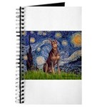 Starry / Red Doberman Journal
