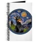 Starry Night Doberman (#1) Journal