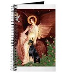 Seated Angel & Dobie Journal