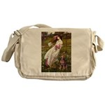 Windflowers / Dobie (#8) Messenger Bag