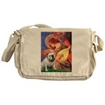 Mandolin Angel & English BD Messenger Bag