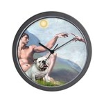 Creation / English BD (#9) Wall Clock