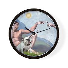 Creation / English BD (#9) Wall Clock