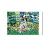 Bridge / English Setter Car Magnet 20 x 12