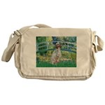 Bridge / English Setter Messenger Bag
