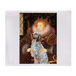 Queen / English Setter Throw Blanket