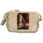 Accolade / English Setter Messenger Bag
