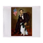 Lincoln / Eng Springer Throw Blanket