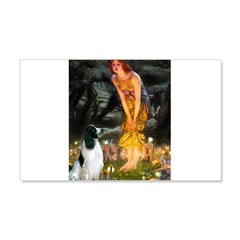 Fairies / Eng Springer 20x12 Wall Decal