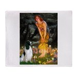 Fairies / Eng Springer Throw Blanket