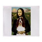 Mona/ English Springer Throw Blanket