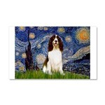 Starry Night / Eng Spring Car Magnet 20 x 12